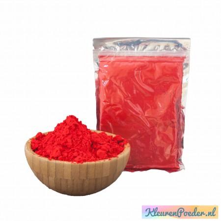 Holi KleurenPoeder zakje 100 gram Rood