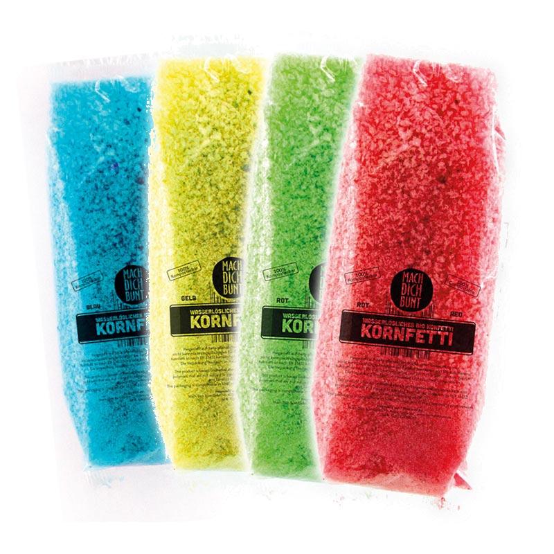 Bio-Confetti 4-pack